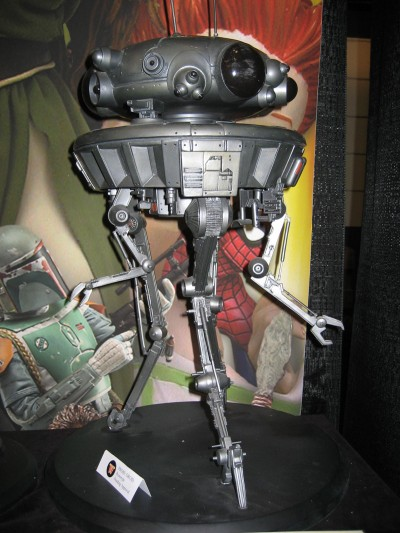 Toy Fair 2009: Attakus Collection: Star Wars Probe Droid