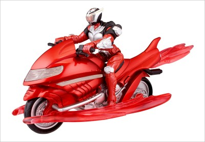 Bandai: Toy Fair 2009 - - DX Rider Set: Dragon Cycle and Knight