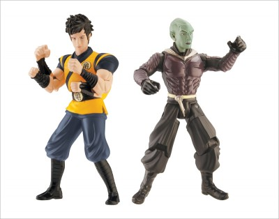 Bandai: Toy Fair 2009 - DragonBall Evolution