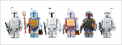 Star Wars Kubrick Boba Fett Collection