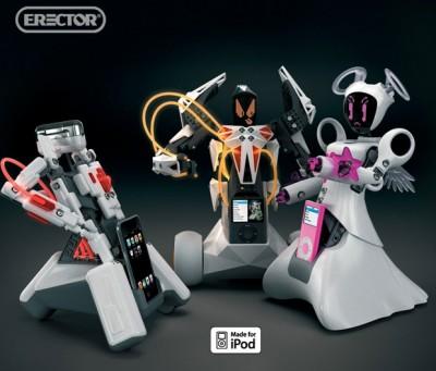 Erector Spykee Robots