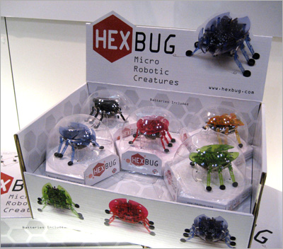 Hexbugs: Toy Fair 2009