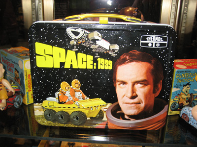 New York Comic Con: Toys and Collectables - Space:1999 Lunchbox from the 70s
