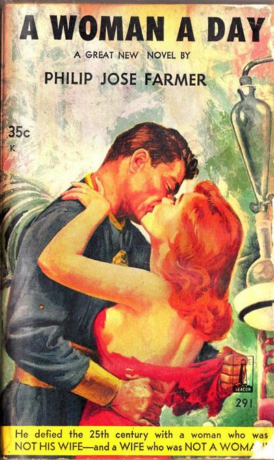 A Woman a Day by Philip Jose Farmer, Beacon Galaxy 1959