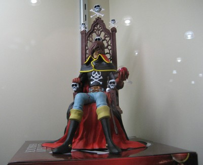 Captain Harlock Statue: PBM Express USA LLC