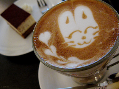 A Bunny Illustration in Your Brew