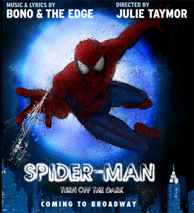 Spiderman comes to Broadway