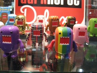 Toy2R: Toy Fair 2009 - Domo!