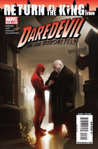 Daredevil #117 illustrated by Marko Djurdjevic
