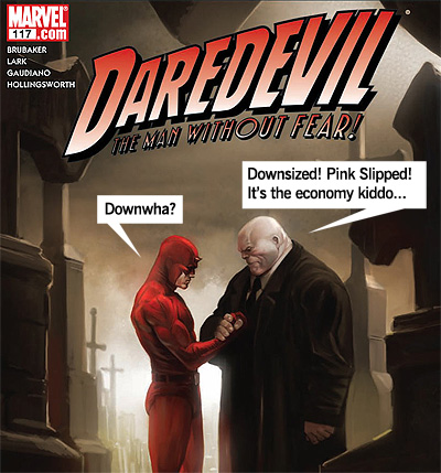 Parody of Daredevil #117