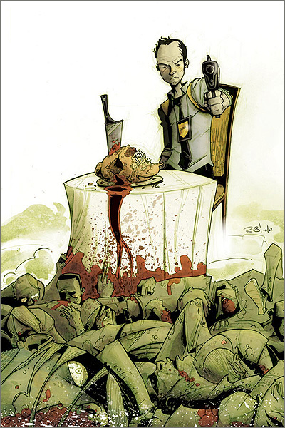 Chew #1 illustrated by Rob Guillory