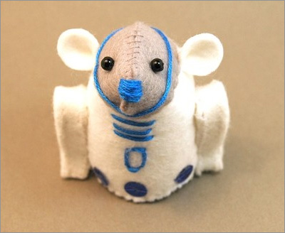 Star Wars Mice from the House of Mouse on Etsy: R2-D2 Mouse