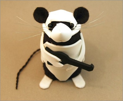 Star Wars Mice from the House of Mouse on Etsy: Stormtrooper Mouse
