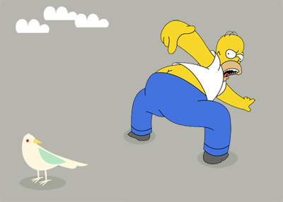 Twitter: Something is Technically Wrong — Homer Simpson Edition