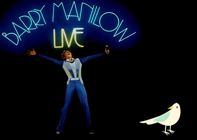 Twitter: Something is Technically Wrong — Barry Manilow Disco Diva Edition