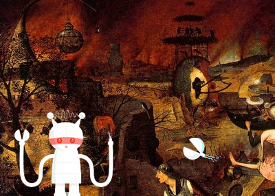 Twitter: Something is Technically Wrong — Hieronymus Bosch/The Garden of Earthly Delights Edition