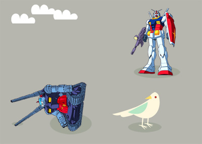 Twitter: Something is Technically Wrong — Mobile Suit Gundam Edition