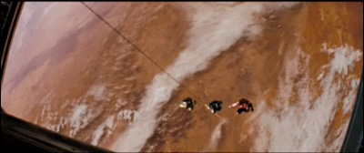 Third Star Trek XI Trailer: Space cadet training includes doing space jumps at Mars!