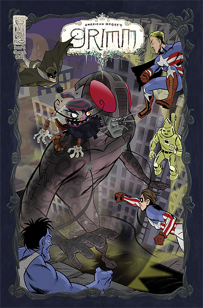 American McGee's Grimm #1: Cover illustration by Grant Bond