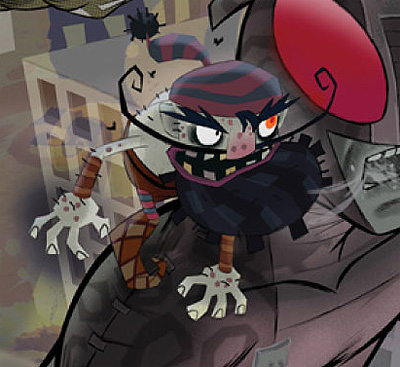 American McGee's Grimm #1: Detail from the cover