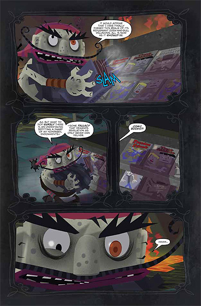 American McGee's Grimm #1: Interior Page