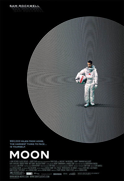 Poster for the film Moon