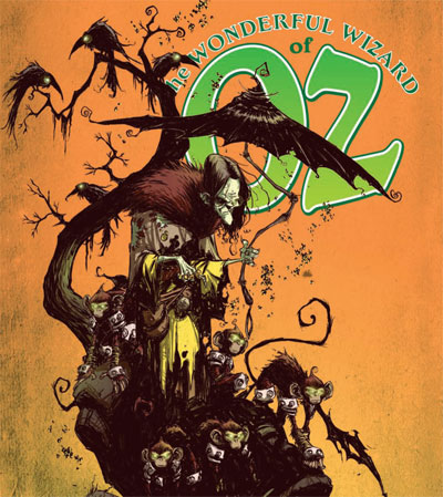 THE WONDERFUL WIZARD OF OZ #5 — illustrated by Skottie Young