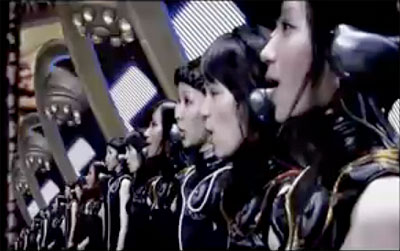 The J-Pop band Perfume