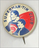 Superman-Tim Club Pin