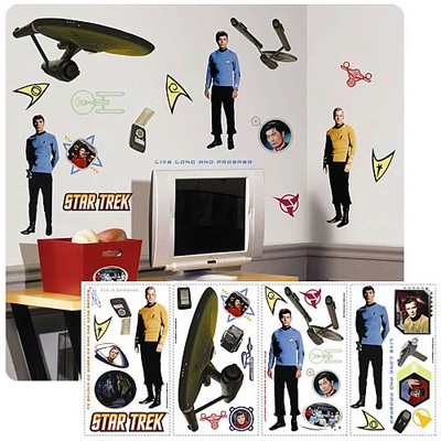 Star Trek Peel and Stick Wall Applique