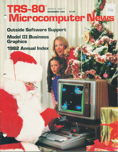 TRS-80 Microcomputer News, December 1982