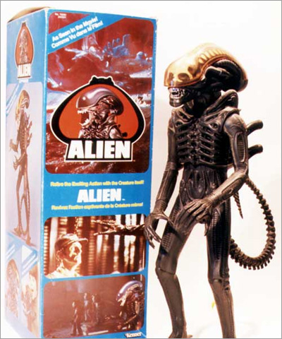 Alien Action Figure from 1979