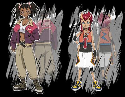 Basquash Characters