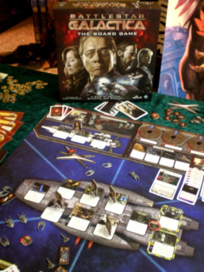 Battlestar Galatica board game