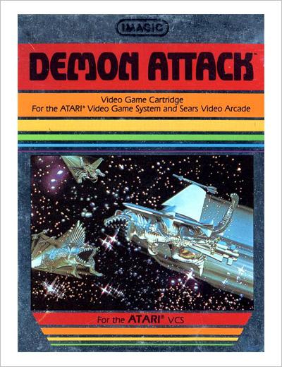 Demon Attack box art