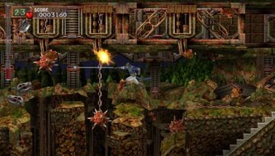 Castlevania X in game