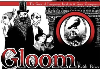 Box for the card game, Gloom