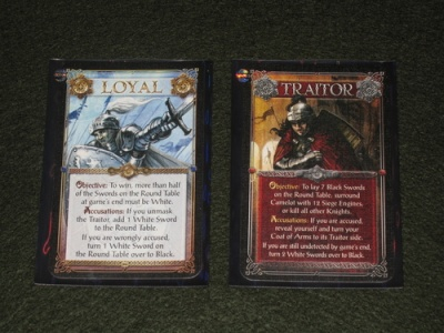 Shadows of Camelot loyalty cards