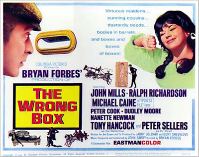The Wrong Box: poster from the film