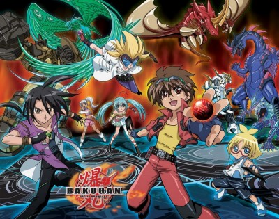 Bakugan Battle Brawlers (Wii, DS)