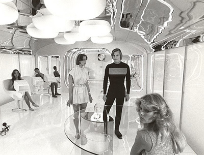 Jenny Agutter, Michael York and Farrah Fawcett-Majors in Logan's Run