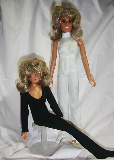 Farrah Fawcett Mego Dolls