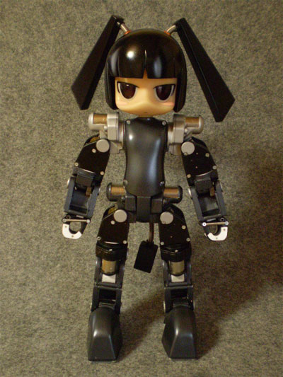 The robot design Hina from the short animated film Clockwork by mujaki
