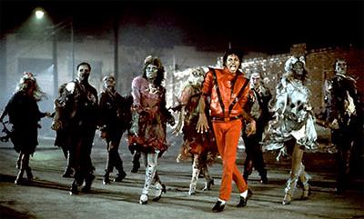 The music video Thriller