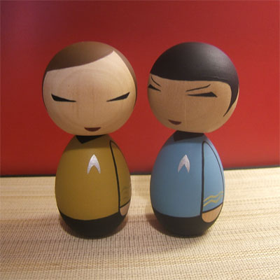 Star Trek Kokeshi dolls