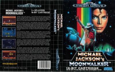 Michael Jackson's Moonwalker Sega game from 1990
