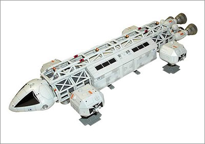 Space 1999 Eagle Transporter Replica