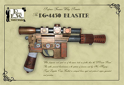 Steampunk Prop Gun - The DG-4450 Blaster
