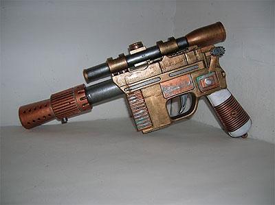 Steampunk Guns Cosplay Fire Power Fanboy Com