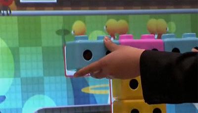 Sega's Block People arcade game